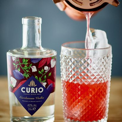 Curio Cardamom Vodka Canadian Garden Cocktail